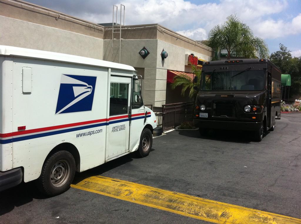 UPS vs. USPS