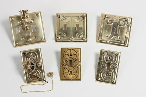 Jules Vernes Light Switch Plates