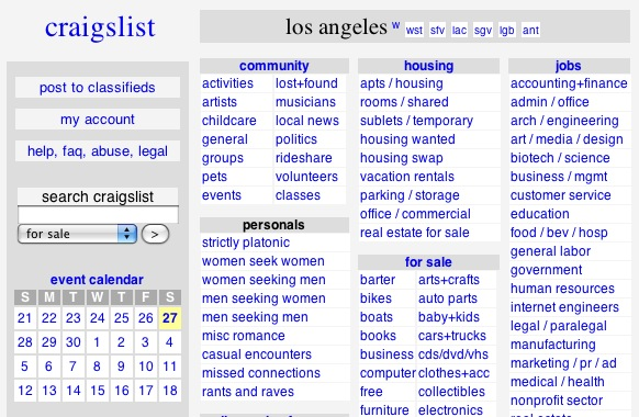 Craigslist Apartment Search