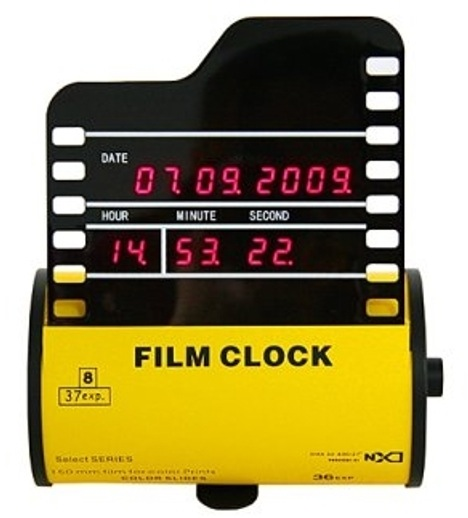 Film Canister Clock