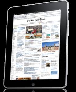 Apple Launches iPad