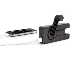 Hand Turbine Power iPhone Charger