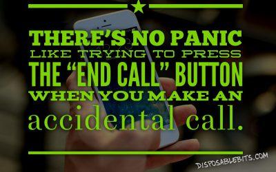 End Call Panic