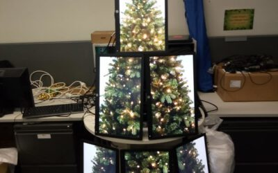 Geek Christmas Trees