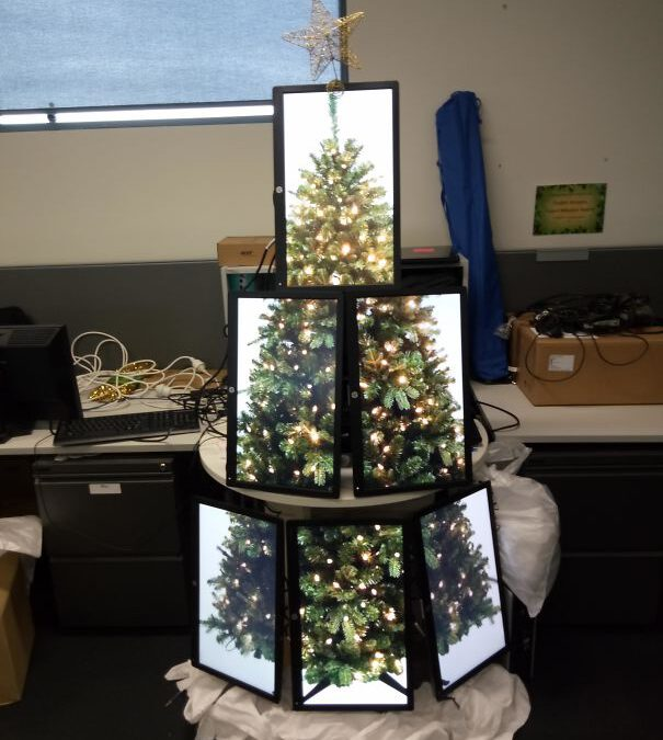 Geek Christmas Trees