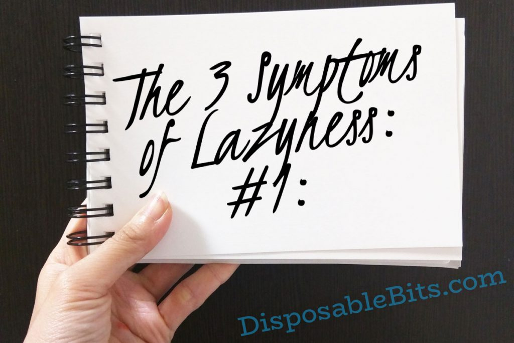 This article will help you understand what the 3 symptoms of laziness are...