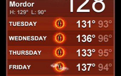 It's too Darn Hot!