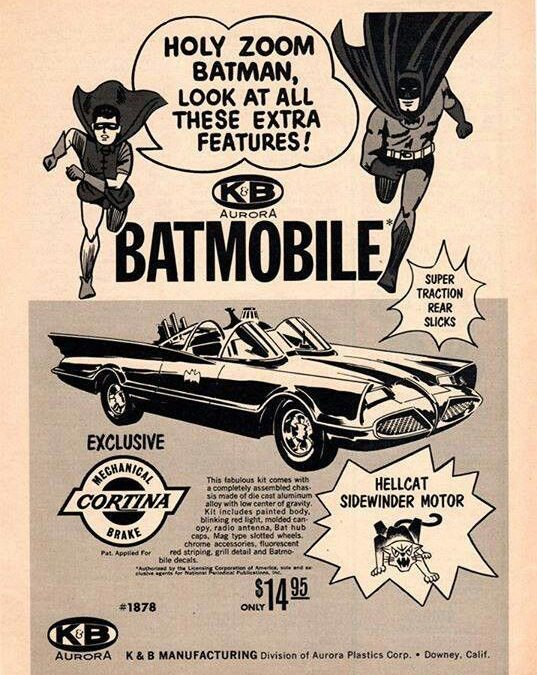 Batmobile Ad