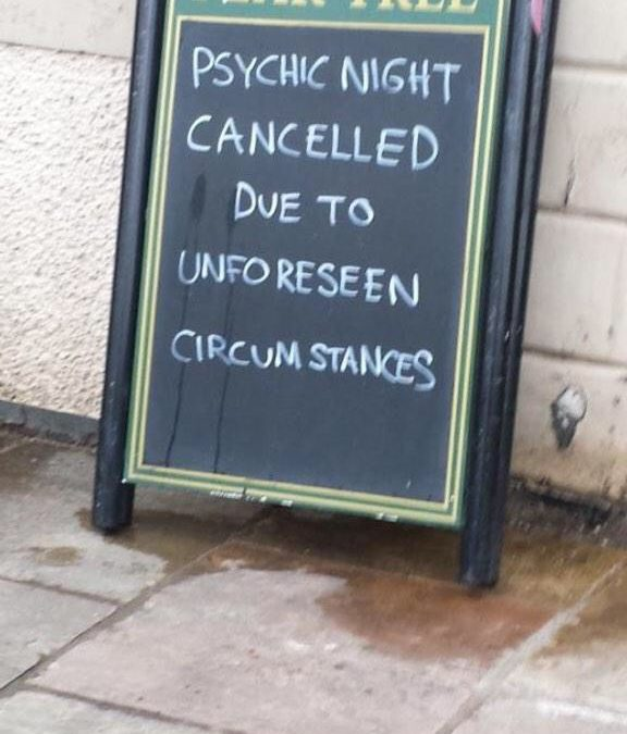 Psychic Night Cancelled